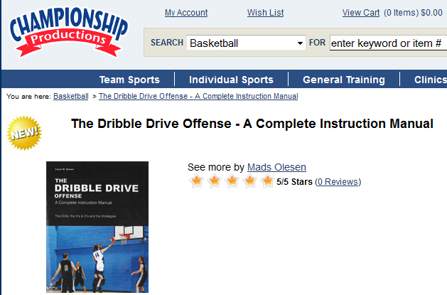 the dribble drive offense a complete instruction manual pdf
